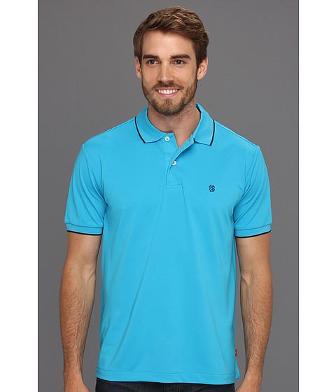 Tricouri IZOD - Short Sleeve Poly Pique Polo Shirt - Hawaiian Ocean