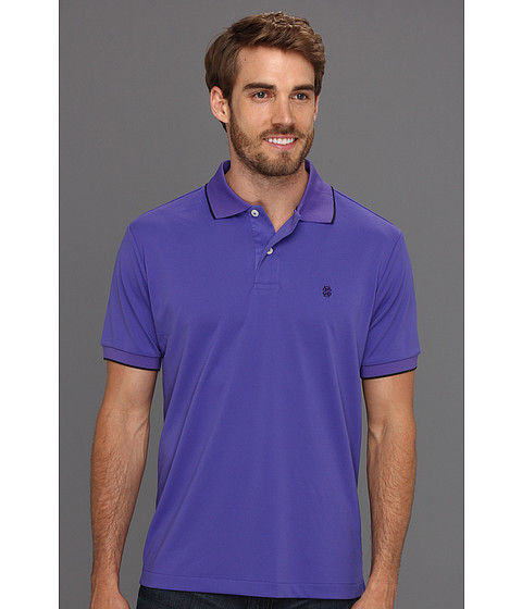 Tricouri IZOD - Short Sleeve Poly Pique Polo Shirt - Liberty Purple