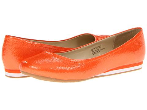 Balerini Soft Style - Capri Ballet - Orange Pearlized Crinkle Patent
