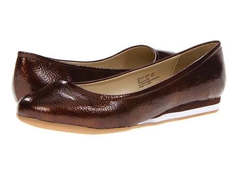 Balerini Soft Style - Capri Ballet - Bronze Pearlized Crinkle Patent