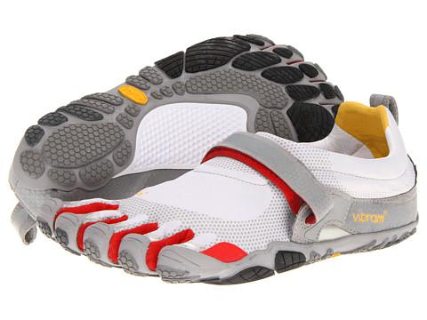 Adidasi Vibram FiveFingers - Bikila - Light Grey/Red/Grey