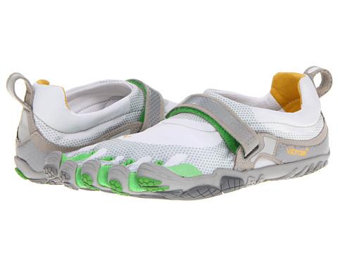 Adidasi Vibram FiveFingers - Bikila - Silver/Verde/Silver