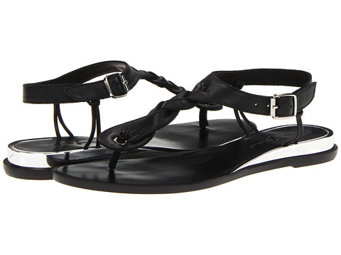 Sandale 7 For All Mankind - Mighty - Black Vachetta