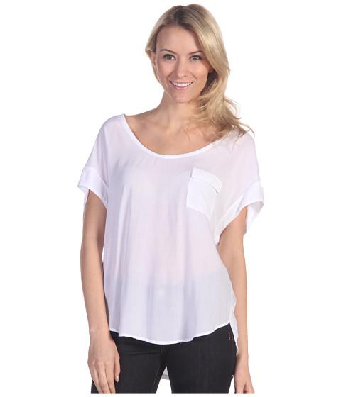 Bluze Splendid - Shirting S/S Top - White