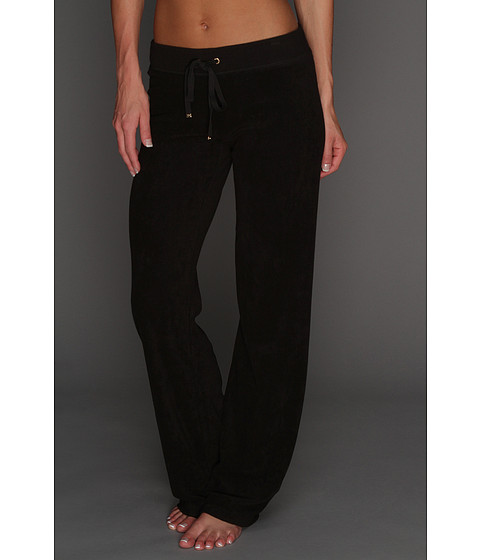 Pantaloni Juicy Couture - Original Terry Pant - Black