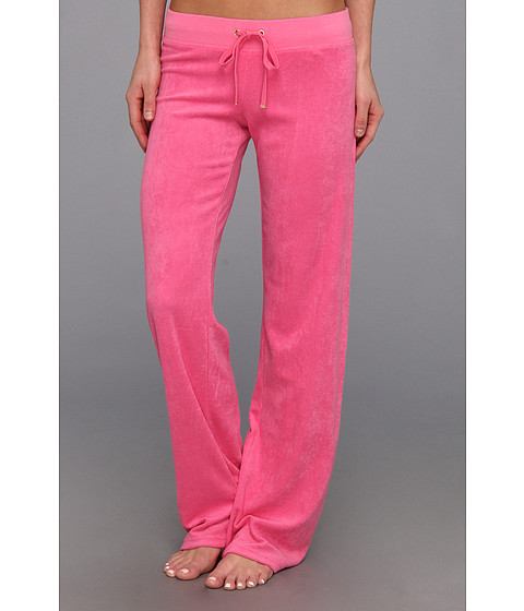 Pantaloni Juicy Couture - Original Terry Pant - Highlighter Pink