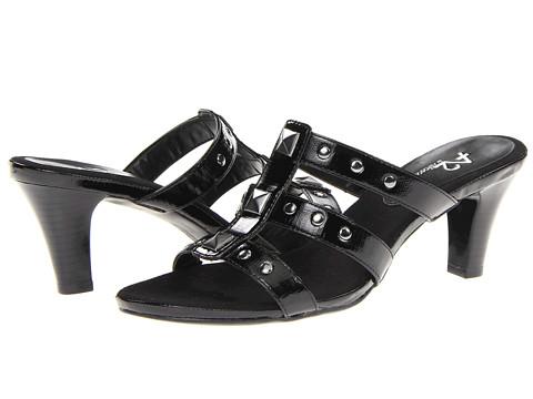 Pantofi Aerosoles - A2 by Aerosoles Powprika - Black Lizard
