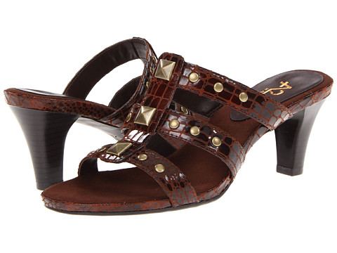 Pantofi Aerosoles - A2 by Aerosoles Powprika - Mid Brown Multi