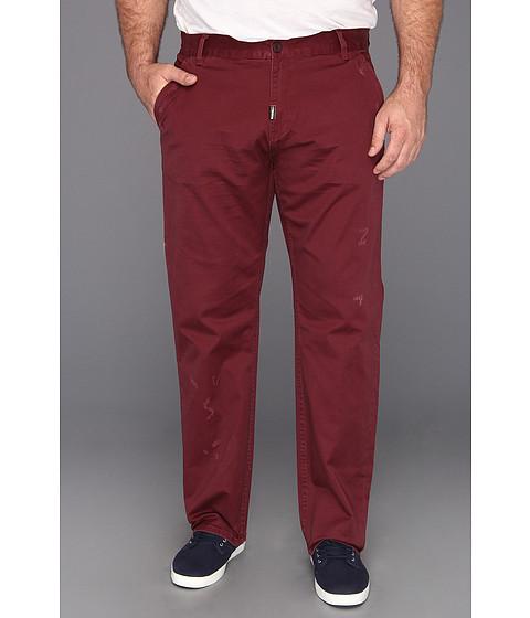 Pantaloni L-R-G - Heartwood TS Chino Pant - Extended Sizes - Burgandy