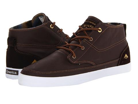 Adidasi Emerica - The Romero Troubadour - Brown/White/Brown