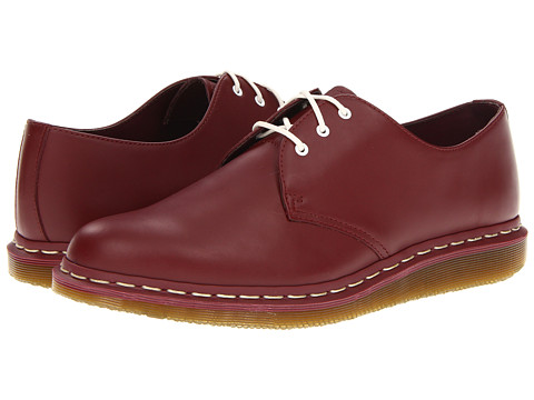 Pantofi Dr. Martens - 1461-C 3-Eye Shoe - Cherry Red Smooth