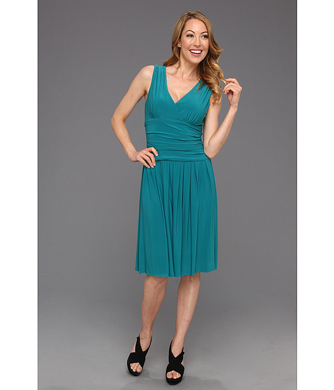 Rochii Jessica Howard - Surplus Bodice with Ruched Waist - Mint