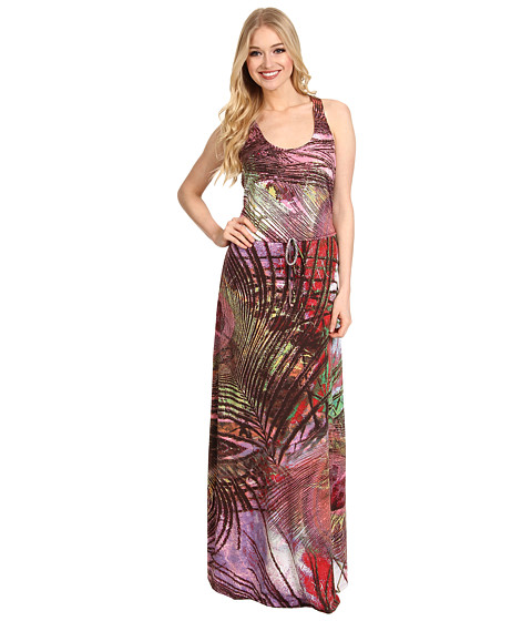Rochii Christin Michaels - Carae Maxi Dress - Pink/Multi