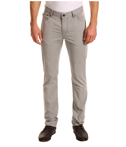 Blugi John Varvatos - Slim Fit Collection Jean in Steel Grey - Steel Grey
