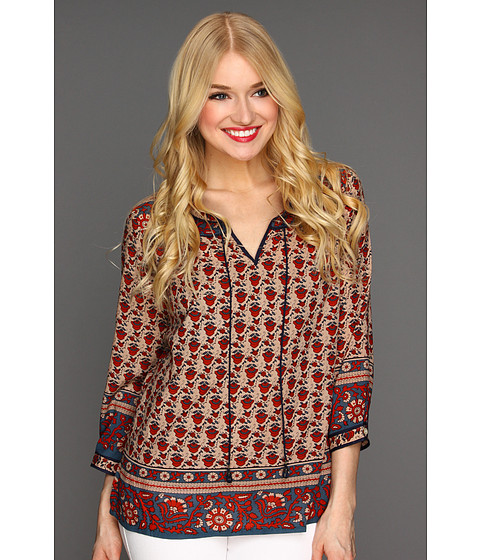 Bluze Lucky Brand - Betton Indian Gate Border Peasant Top - Multi