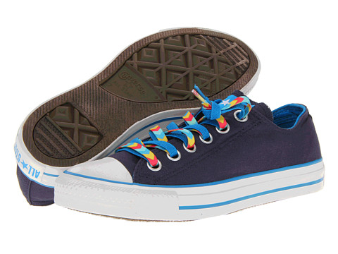 Adidasi Converse - Chuck Taylorî All Starî Double Lace Ox - Athletic Navy