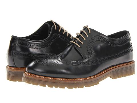 Pantofi Steve Madden - Lumbrikk - Black Leather