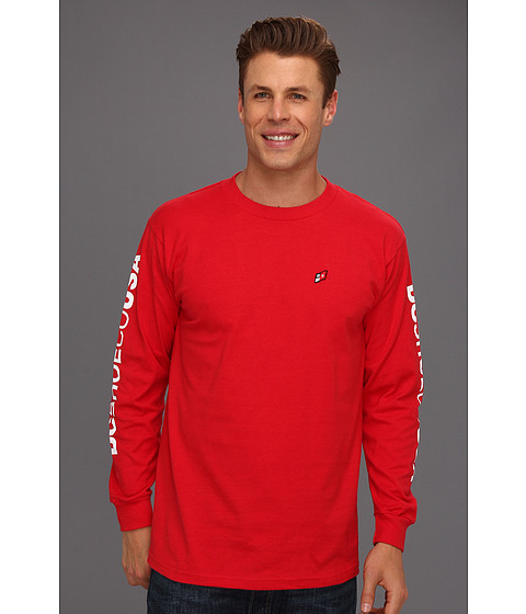 Tricouri DC - Sleever L/S Tee - Athletic Red