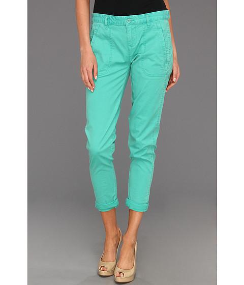 Blugi Calvin Klein - Rolled Pant w/ Slanted Pockets - Ocean Green