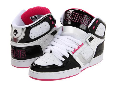 Adidasi Osiris - NYC83 Slim - Black/Silver/Pink