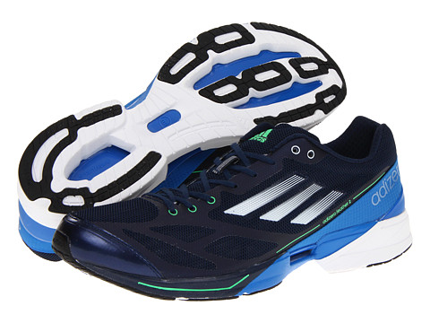 Adidasi Adidas Running - adizeroâ⢠Feather 2 - Collegiate Navy/Running White/Prime Blue