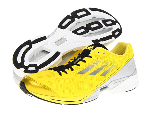 Adidasi Adidas Running - adizeroâ⢠Feather 2 - Vivid Yellow/Neo Iron Metallic/Tech Onix