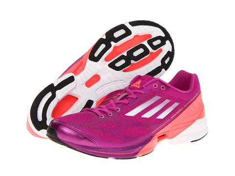 Adidasi Adidas Running - adizeroâ⢠Feather 2 W - Vivid Pink/Running White/Red Zest