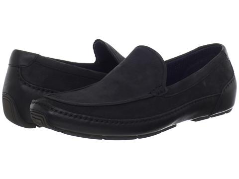 Pantofi Cole Haan - Air Mitchell Venetian - Black Nubuck/Black
