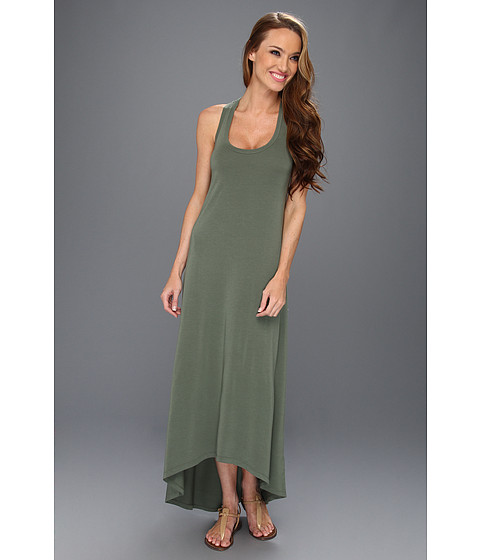 Rochii Splendid - Racerback High-Low Dress - Camo Green