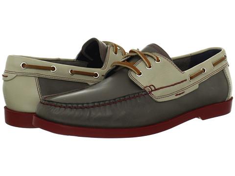 Pantofi Cole Haan - Fire Island Boat - Ironstone/Pavement.Masonry