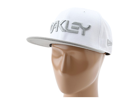 Sepci Oakley - Oakley Factory Snap Back Cap - White/Grey