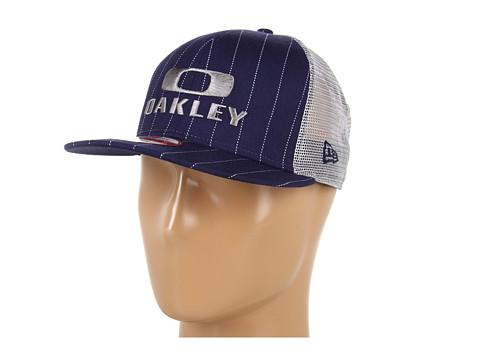 Sepci Oakley - Oakley Pinstripe Trucker - Navy Blue