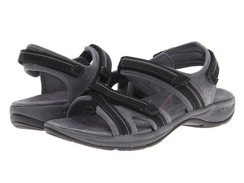 Sandale Easy Spirit - Efecta - Dark Grey/Black Suede