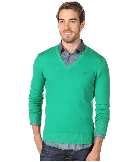 Bluze Diesel - Meceneo Sweater - Green/Grey