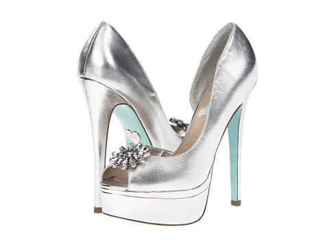 Pantofi Betsey Johnson - Honor - Silver Metallic