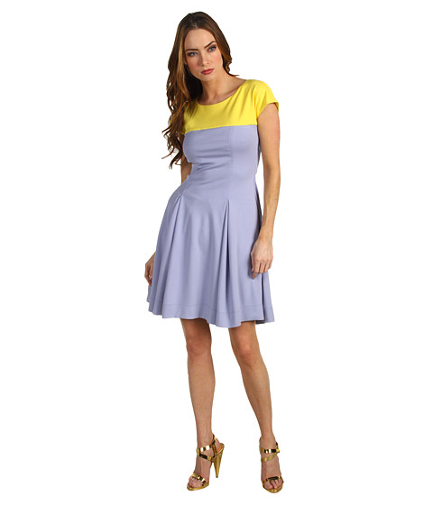 Rochii elegante: Rochie Moschino - W5642 00 E1547 4135 - Purple/Yellow