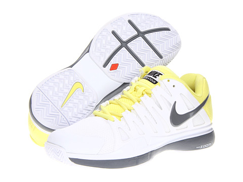 Adidasi Nike - Zoom Vapor 9 Tour - White/Electric Yellow/Cool Grey