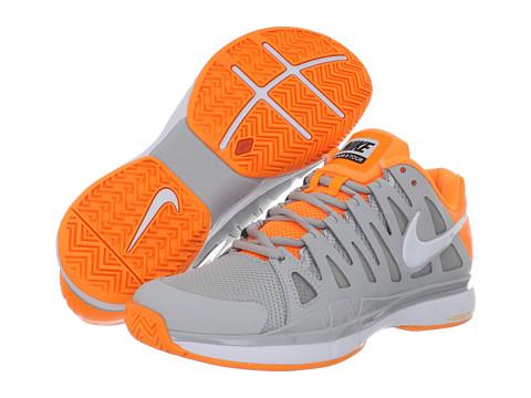 Adidasi Nike - Zoom Vapor 9 Tour - Strata Grey/Bright Citrus/White