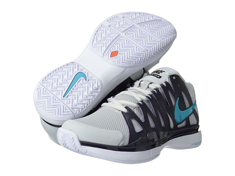 Adidasi Nike - Zoom Vapor 9 Tour - Pure Platinum/Purple Dynasty/Gamma Blue