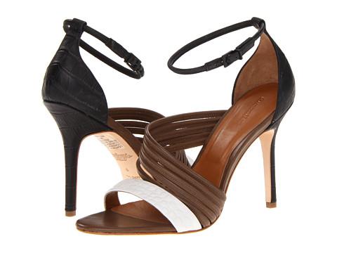 Pantofi Rachel Roy - Luna - Light Taupe Parma Lux/Black Zanotta Wash/White Zanotta Wash