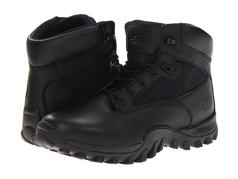 "Ghete Timberland - Valor McClellan 6"" Soft Toe - Black1"