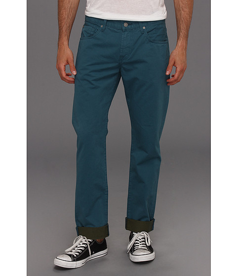 Blugi 7 For All Mankind - Straight in Marine Blue - Marine Blue