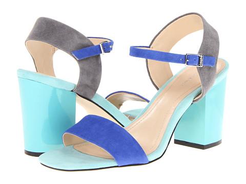 Sandale Calvin Klein - Verla - Blue/Grey Kid Suede