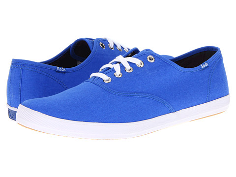 Adidasi Keds - Champion Neon Canvas - Neon Blue