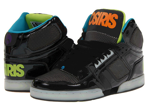 Adidasi Osiris - NYC83 Heat - Black/Metal/Heat