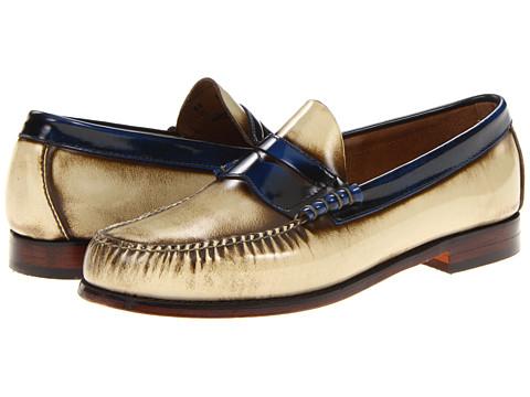 Pantofi Bass - Larson-5 - Cream/Blue