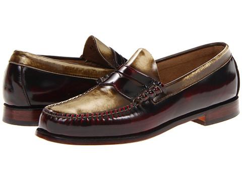Pantofi Bass - Larson-5 - Red/Cream Collar