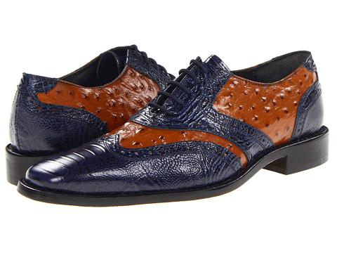 Pantofi Stacy Adams - Armento - Dark Blue/Butterscotch