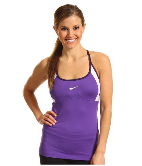 Tricouri Nike - Strappy Knit Tank - Ultraviolet/White/Grand Purple/White