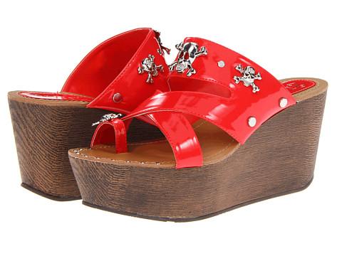 Sandale 2 Lips Too - Too Rum - Red